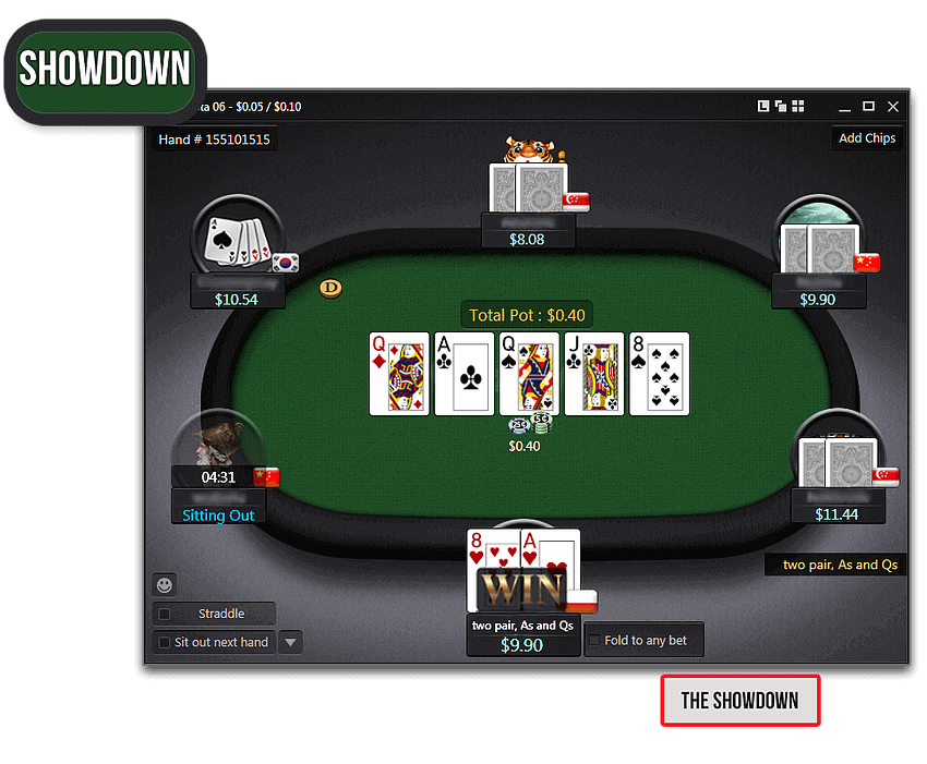 How To Play Poker Online The Showdown Explained
