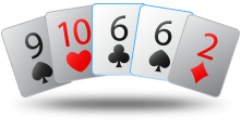 Poker Hand Probability Chart - One Pair