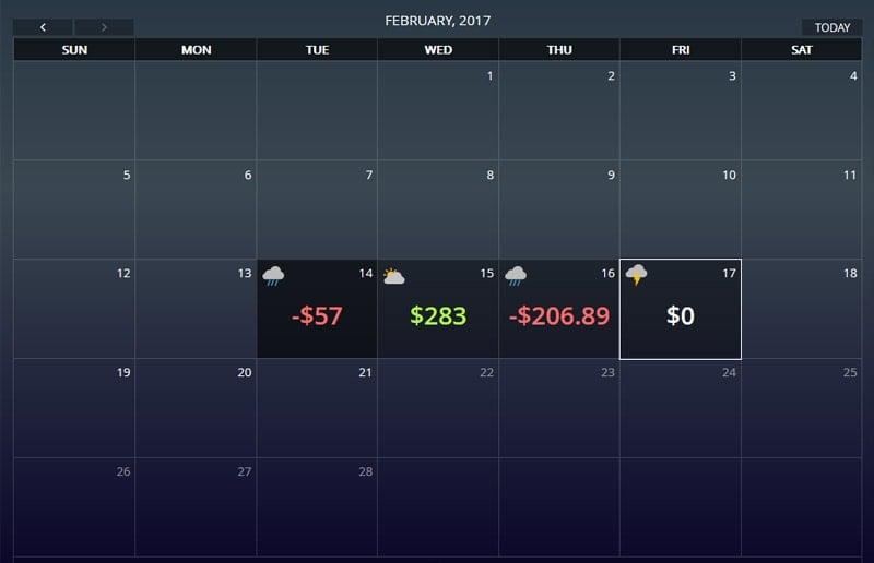 Pokercraft Poker Tracker Calendar Real Money Poker App