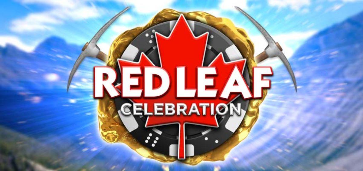 Celebrate Canada maple avatar in real money poker app
