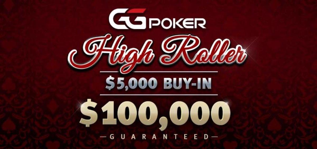 $100K GTD high-roller online poker tournament