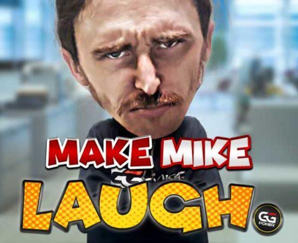 Make Mike Laugh real money poker app social media challenge