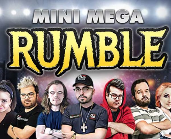 Mini-Mega online poker partners twitch rumble