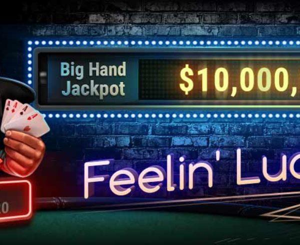 GGPoker's newest online poker promo Big Hand Jackpot