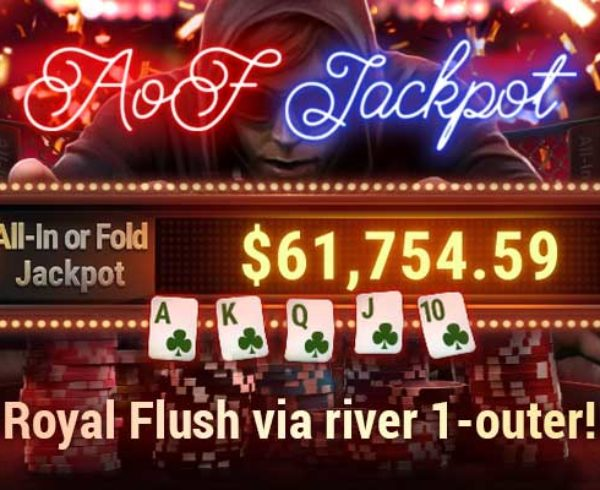 September AoF jackpot real money poker prizes