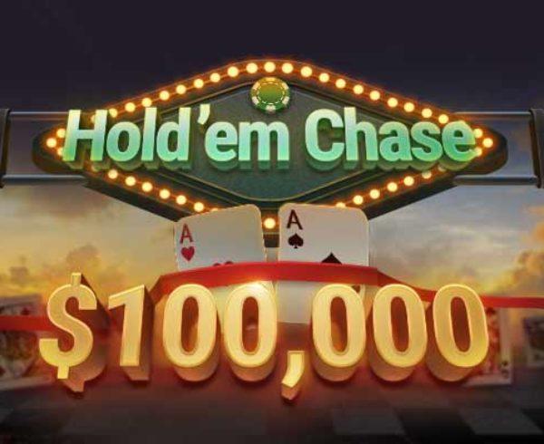 Real money poker app Autumn promotions $100K Hold'em Chase