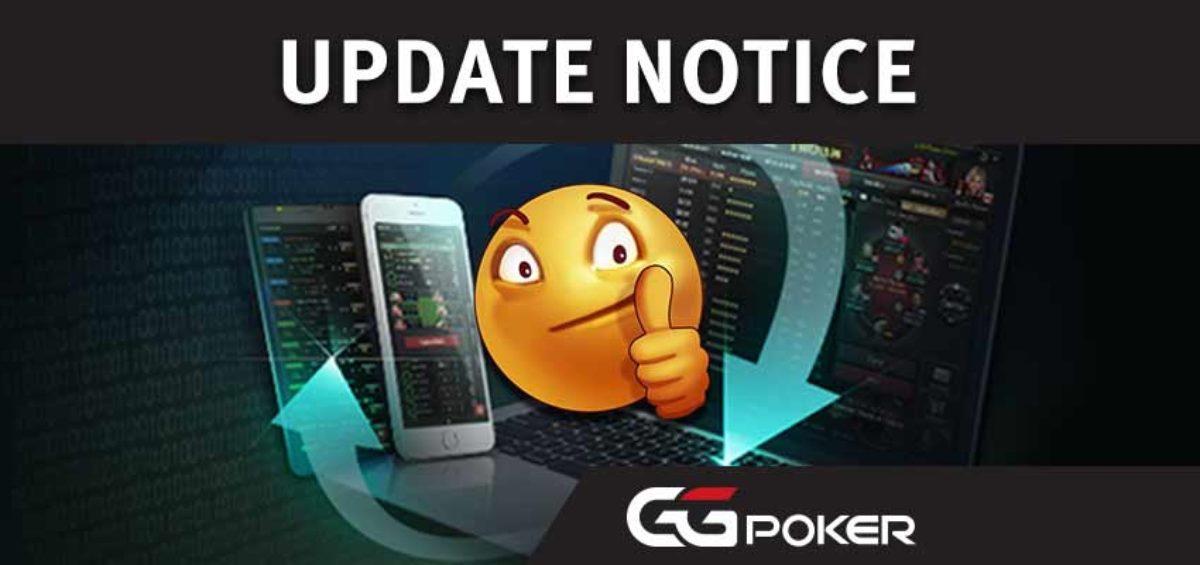 Online Poker GGNetwork GGPoker Update Notice Maintenance Real Money Poker App