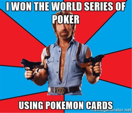 Best funny poker memes